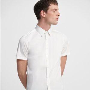 Theory short sleeve Sylvain dress shirt